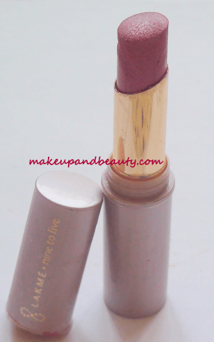 Lakme 9 to 5 lipstick poppy