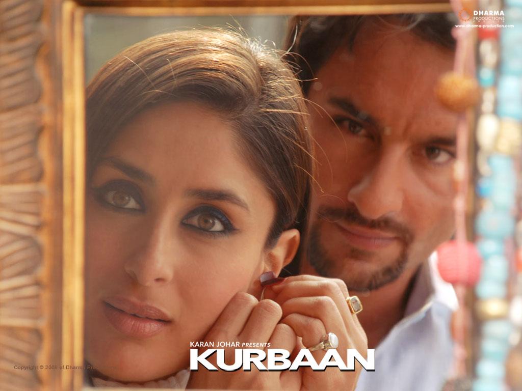 Bollywood Album: kareena kapoor in red dress in kurbaan ...