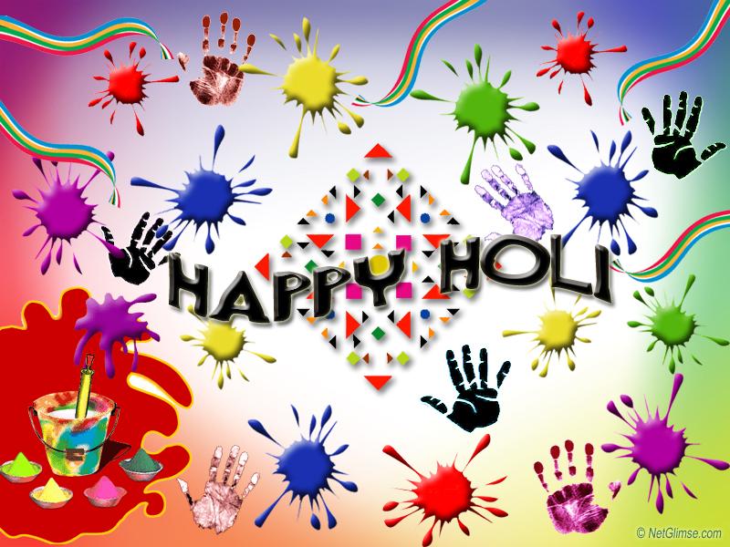 Happy Holi Happy Holi To All!
