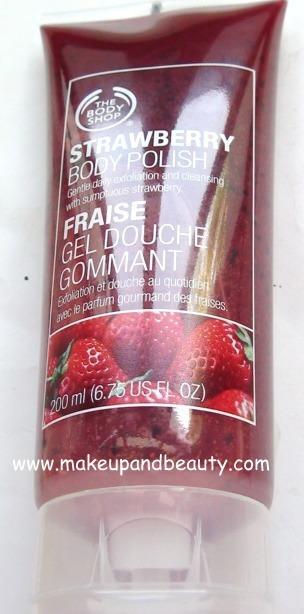 The Body Shop Strawberry Polish