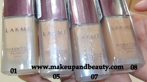 Lakme Invisible Foundation
