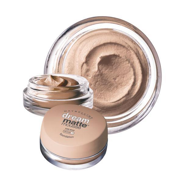 MAybellien Dream Matte Mousse FOundation