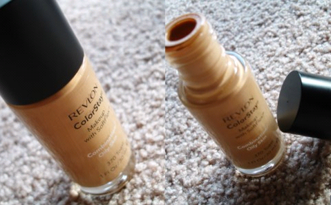 "What does Revlon claim about color stay foundation? ""ColorStay™ Makeup with"