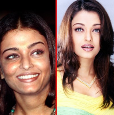 aishwarya+rai+plastic+surgery 8 Bollywood Actresses who have Undergone Plastic Surgery