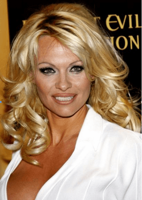 cosmetic surgery - Pamela Anderson