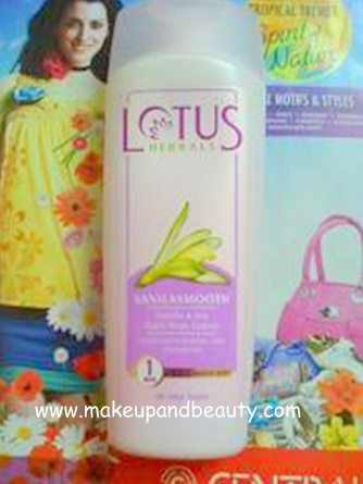 Lotus Herbals Vanilla Body Lotion