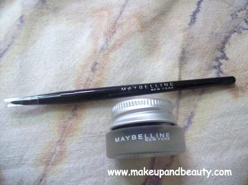 Maybelline Gel liner Review