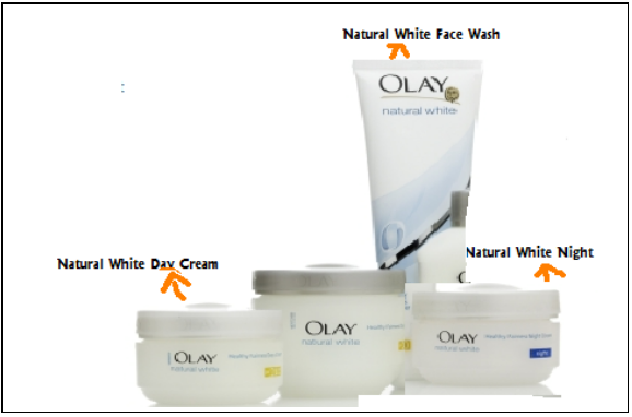Natural WHITE DAY Cream, Natural White Night and Natural White Face ...