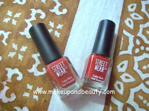 Street Wear NAil Color Review
