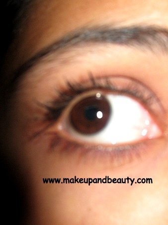 lashes with mascara
