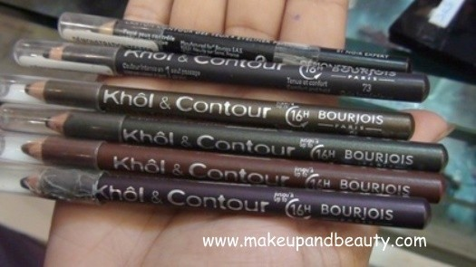 Bourjois Khol and Contour