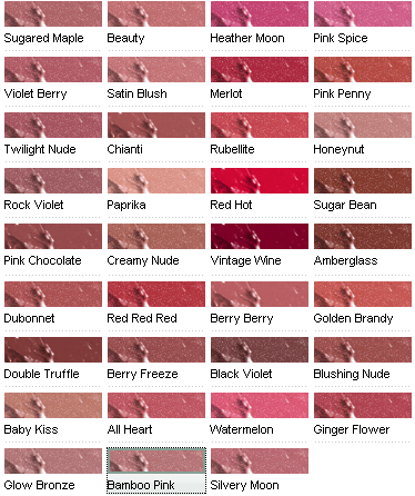Clinique All Over Lipstick Shades