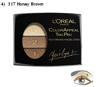 Loreal Honey brown