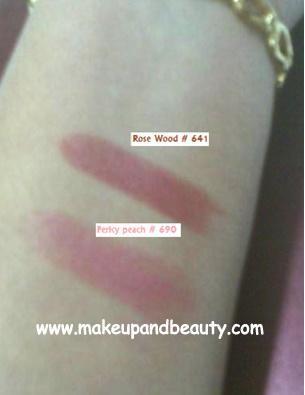 Lotus Herbals Lipstick Shades