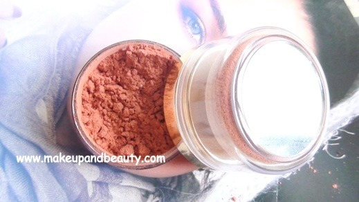 Lotus herbals Transluscent loose Powder Rouge Lustre