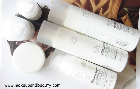 The Body Shop Moisture White COLLECTION