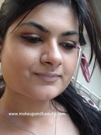 Purple Golden Eye Makeup
