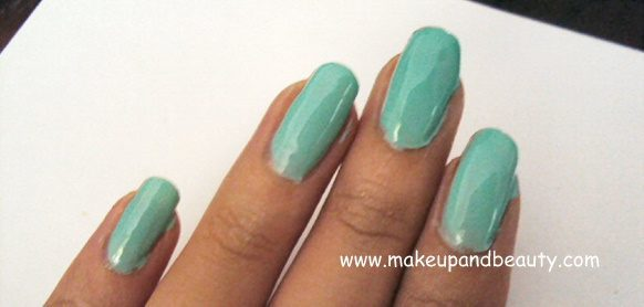 Mint Cream.PNG ELF Nail Polish Remover Pads & Nail Polish Review + Swatches