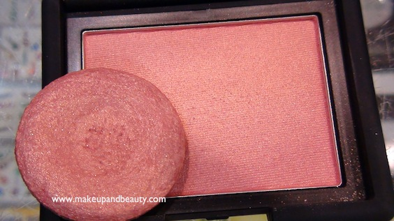 Bourjois 33 blush vs NARS Orgasm