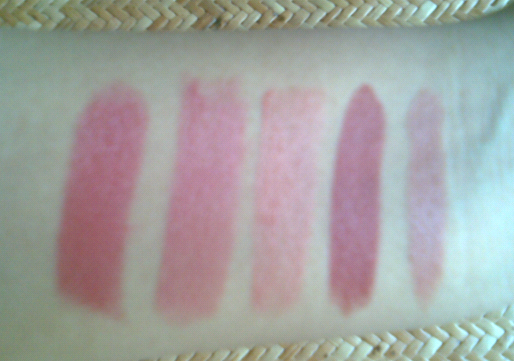 Coloressence lipstick shades