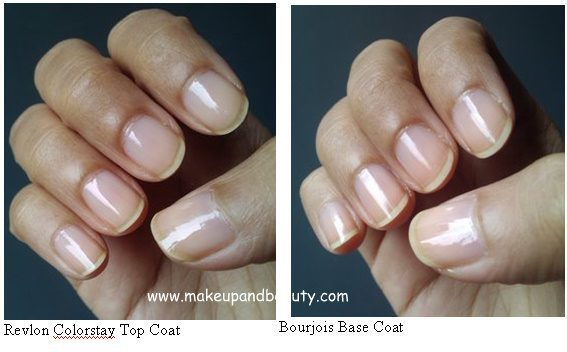 a review of revlon colorstay top coat and bourjois base coat. Black Bedroom Furniture Sets. Home Design Ideas