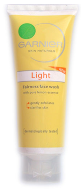 Garnier Light Face wash review