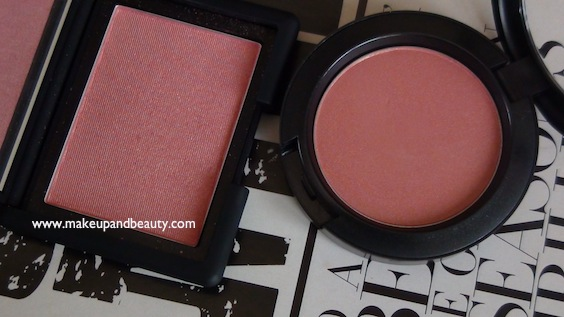 MAC Springsheen vs NARS Orgasm Blush