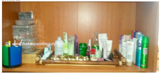 Accessories arrangement