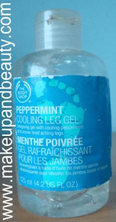The Body Shop peppermint Gel 1