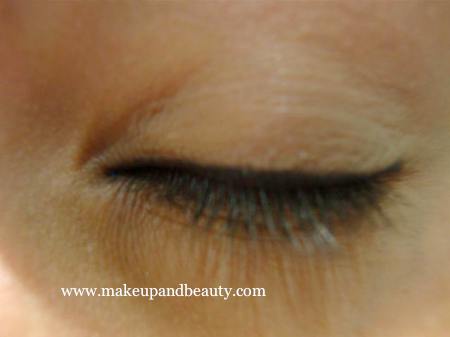 Blue Grey Makeup Black liner