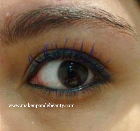 Blue Grey Makeup mascara