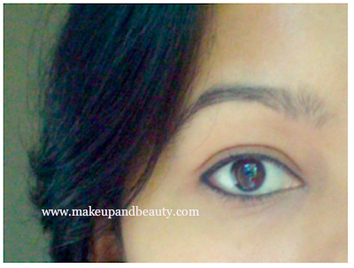 Lakme Eyeliener on eyes