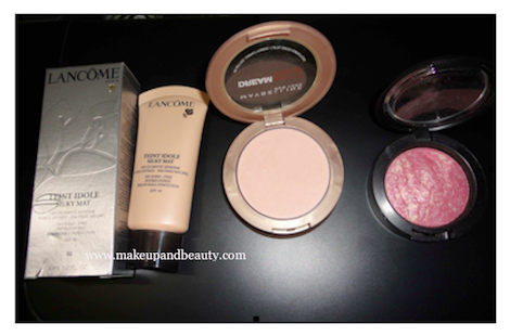 makeup tutorials for green eyes. Face MAkeup products used