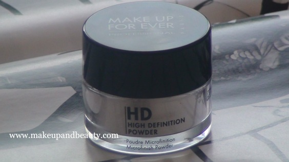 makeup forever. Make Up For Ever HD Powder