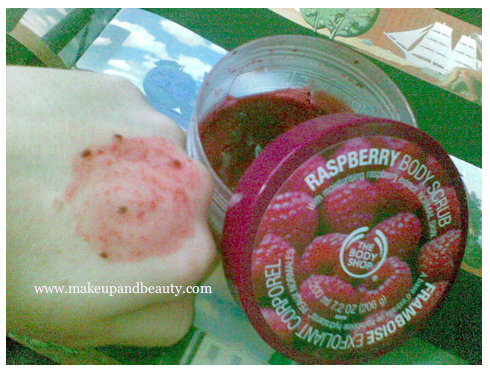 TBS Raspberry Body Scrub