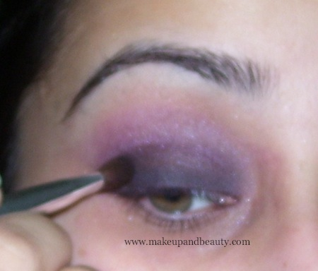 Blend pink and purple