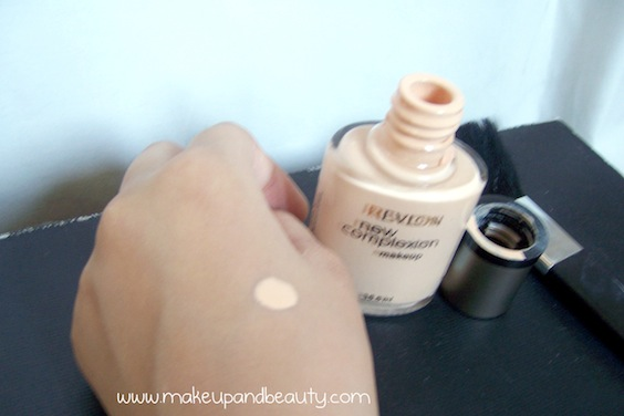 Revlon foundation swatch