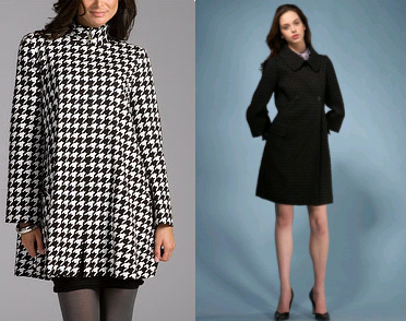 A classic and a line coat.