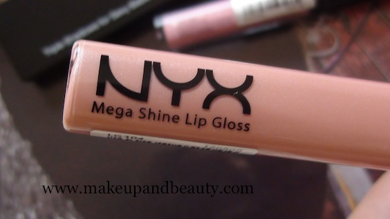 NYX Mega Shine lip Gloss Sweet Heart