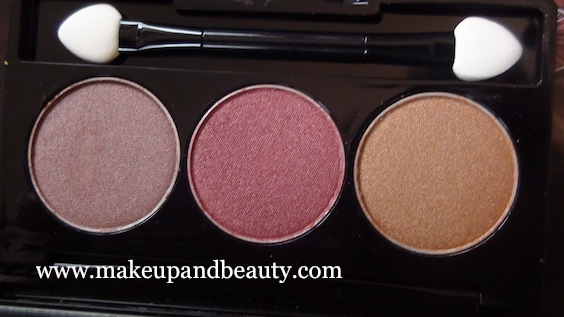 NYX Trio - Golden , Rust, Walnut Bronze