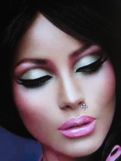 eye makeup look. MAC Barbie Look