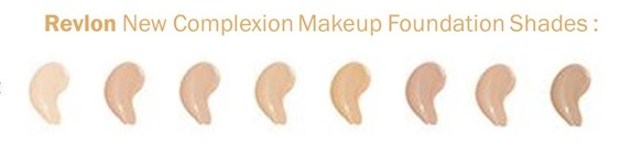 Revlon New Complexion (Colour Shades)