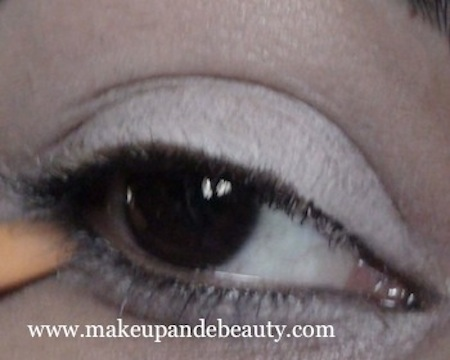 Pick shimmery-brown eyeshadows
