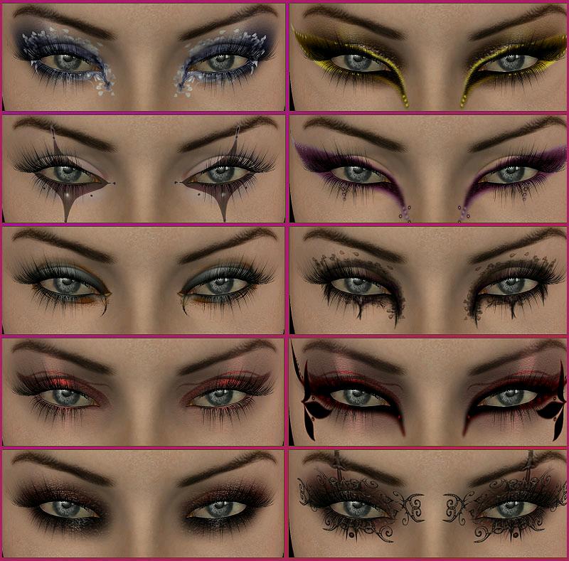 Eyes Different Eye Makeup Styles