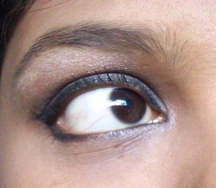 smokey eye highlighter