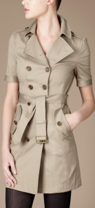 A classic shirtdress from Burberry