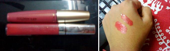 Avon Goldshine & Maybelline Color Sensational Lipgloss