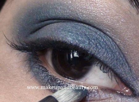 Estee Lauder Blue dahlia Makeup - outer third