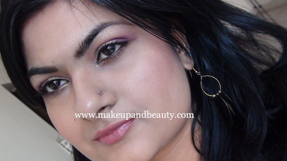 Goldne Pink Eye Makeup