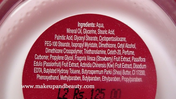 Lakme Fruit Moisture Night Cream